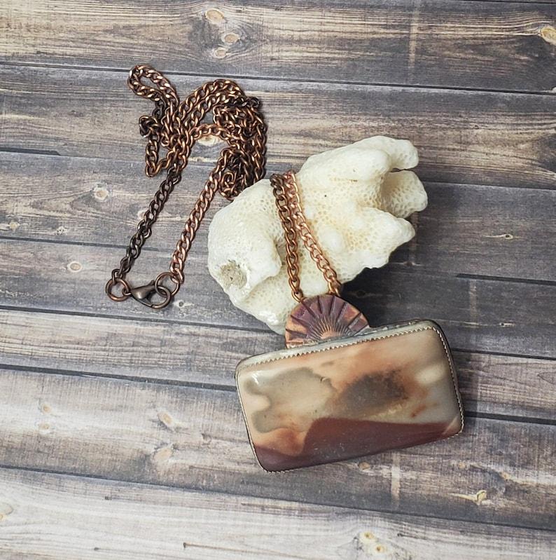 Picture Jasper Copper Necklace