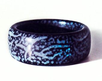 Glow ring Luminous ring Epoxy resin ring for women and men