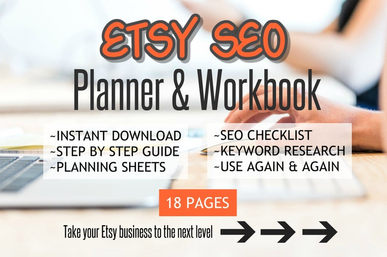 Etsy SEO Planner  Keyword Research Business Planner  Online image 0