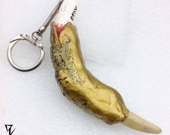 "Alien Sand Egg / Alien Claw Keychain ""Clawed For Life"" / Wish - Crush - Wear"