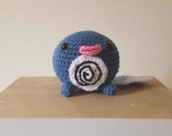 Amigurumi Crochet Poliwag-Pokemon