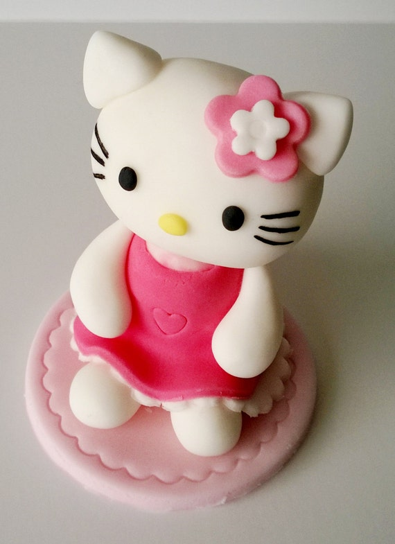 Hello Kitty Cake Toppers Personalised Edible Birthday Etsy