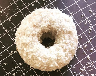 Gluten Free Coconut Donuts - 6 per package