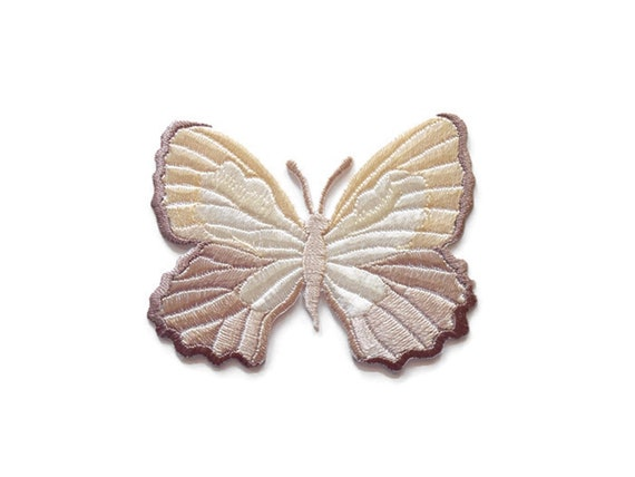 """2.25/"""" Purple Stone Butterfly Embroidery Patch"""