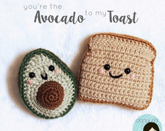 You're the Avocado to my Toast Crochet Pattern