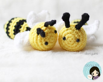 The Bee-utiful Bees Crochet Pattern ~ Save the Bees ~