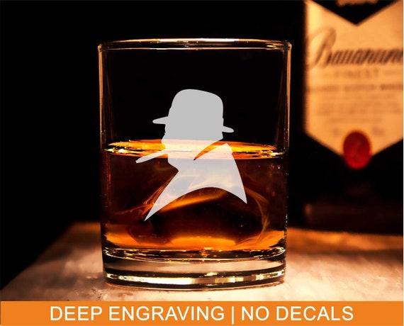 Churchill-Whisky-Glas, graviert Winston Churchill Silhouette, Winston  Churchill Whisley Glas, Whisky-Liebhaber-Geschenk, große Winston Churchill