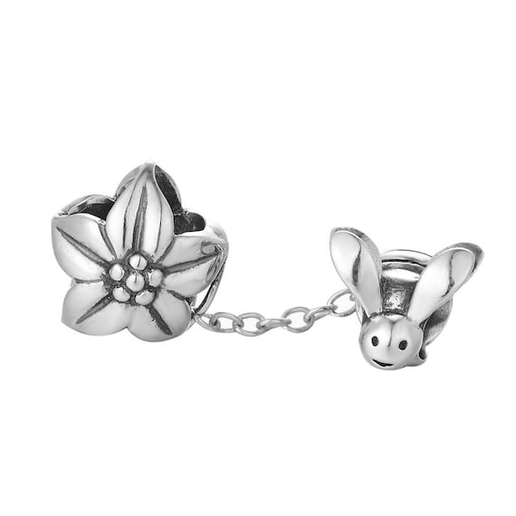 Sterling Silver 7 4.5mm Charm Bracelet With Attached Mini Lined Number Two 2 Charm