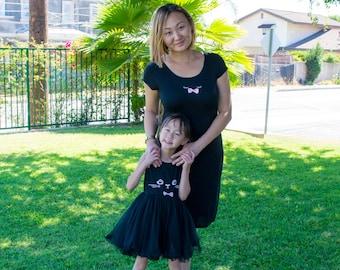 Mommy & Me Kitty Dress