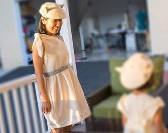 Ivory Asymmetrical Resort Dress