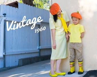 1960s Vintage Mod Dress