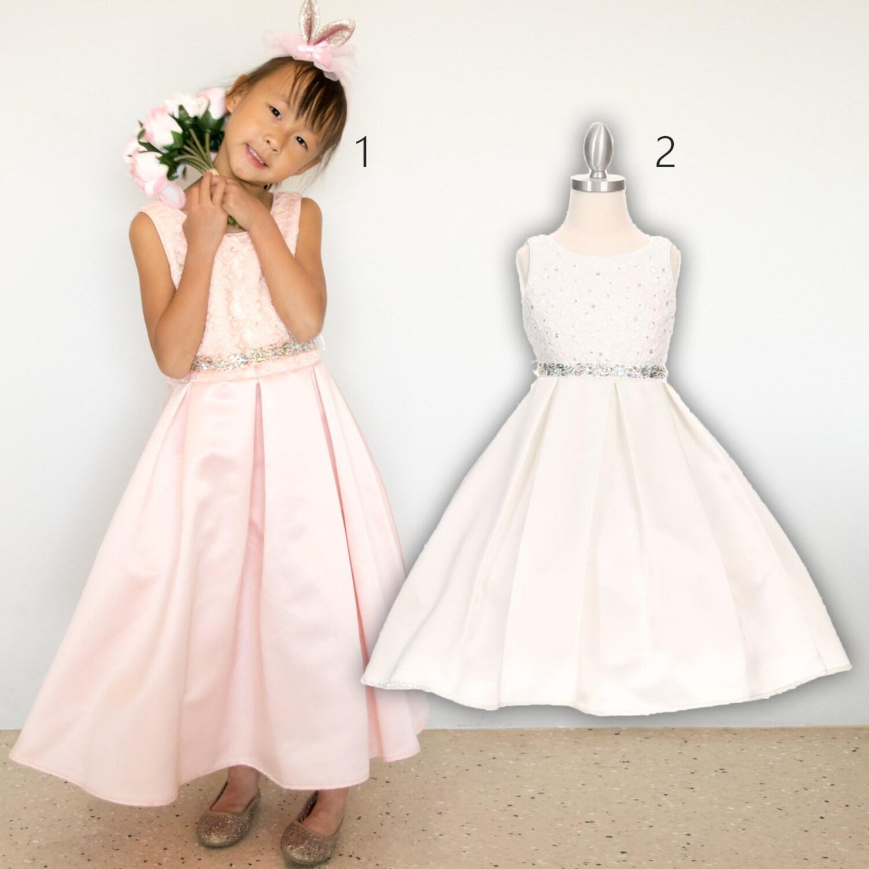 cdc0485d251 Bridal Satin Lace Dress