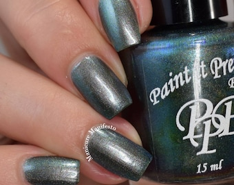 I Believe, multichrome nail polish, colourshifting lacquer, indie nail polish, Paint it Pretty Polish