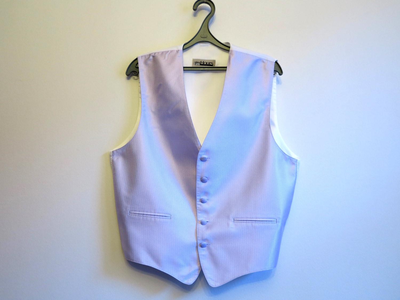 c000738ee Light Purple Mens Vest Gentlemen's Vest Formal Waistcoat | Etsy