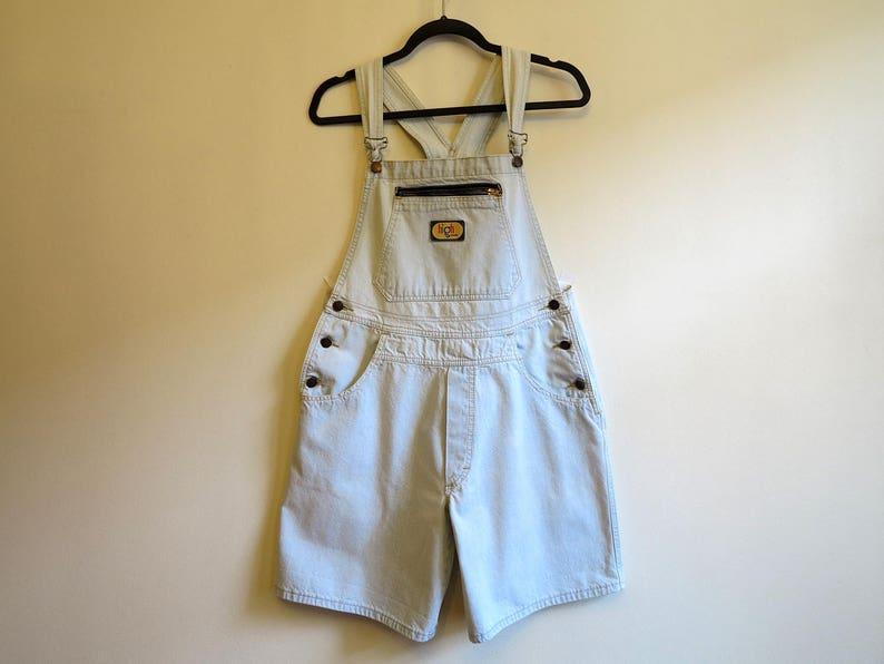 963ec9f17616 Womens Pale Blue Denim Jumpsuit Light Jeans Bib Jumper One
