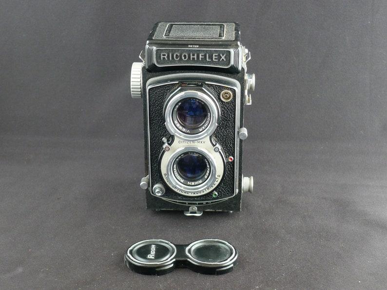 Ricoh RIcohflex Vintage Medium Format TLR Camera Overhauled image 0
