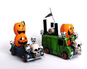Handmade Mad Max Inspired Skull n Pumpkins Clan 2 Piece Set