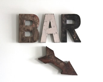Bar Sign   Bar Wall Decor   Man Cave Bar Decor   Gift For Husband   Man  Cave Sign   Man Cave Wall Decor   Gift For Men   Gift For Boyfriend