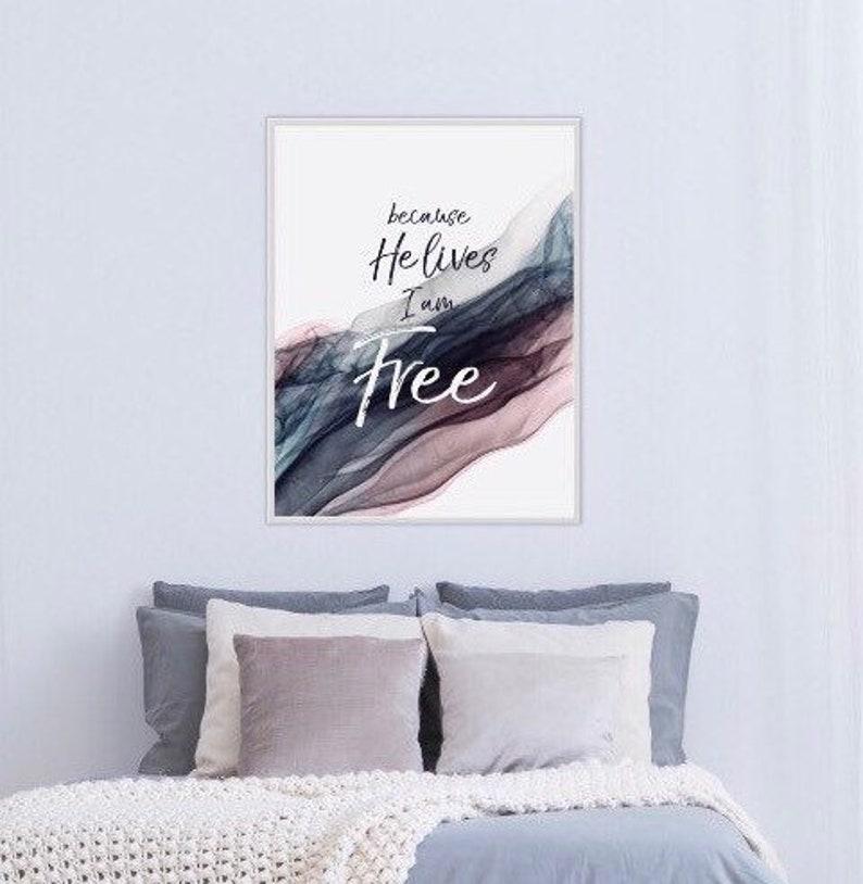 Alcohol Ink Art Fine Art Print Purple Gray I am Free