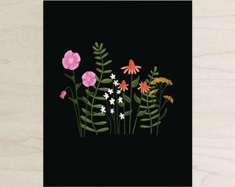 Wildflower Print, 8x10 Print, Wildflowers, Forrest