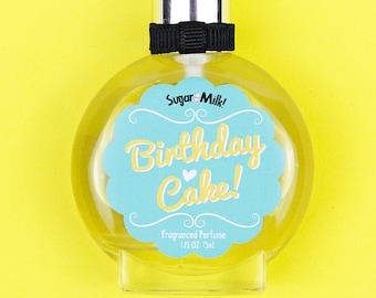 Birthday Cake Perfume /Perfume Oil / Body Mist / Cake Perfume / Vanilla Perfume / Natural Perfume / Perfume Atomizer