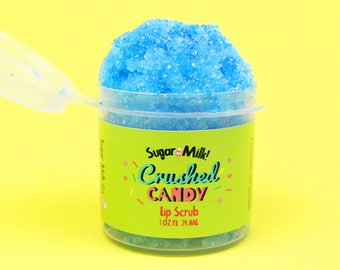 Crushed Candy Lip Scrub / Sugar Scrub / Lip Balm / Vegan Lip