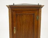 Hanging Corner Cabinet, Antique Cabinet, Oak, 18th Century, Antique Furniture, B1506