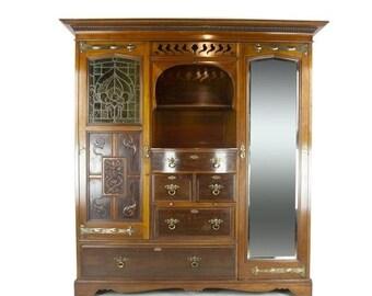 Art Nouveau Furniture Etsy