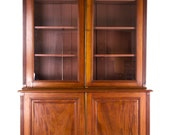 Office Cabinet, Antique Bookcase, Antique Walnut, Postal Cabinet, Lawyers Cabinet, B776 REDUCED