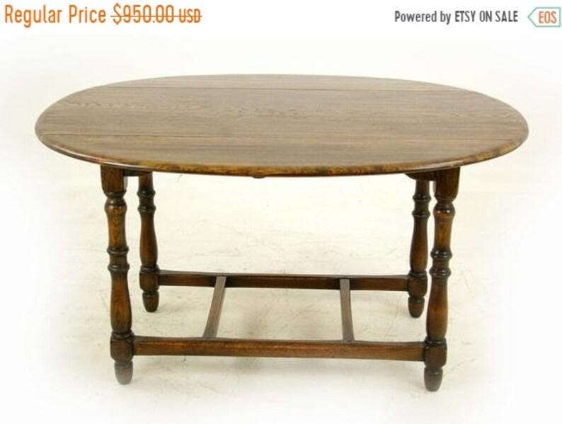 Antique Furniture.Summer Sale Antique Oak Table Oak Kitchen Table Drop Leaf Table Laidler And Co Canada 1930 Antique Furniture B1153