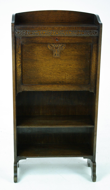 Antique Drop Front Secretary Desk >> Slant Front Desk Drop Front Desk Antique Secretary Desk | Etsy
