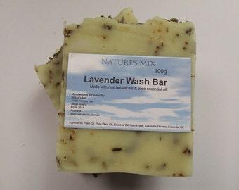 Lavender Wash Bar