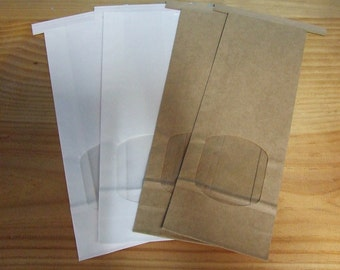 Tin Tie Bags **pack of 10**