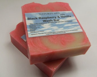 Black Raspberry & Vanilla Wash Bar