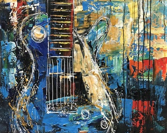 "S028  (3) Guitar 31X31"""