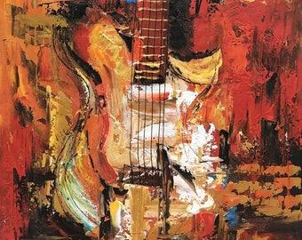 "S028  (4) Guitar 31X31"""