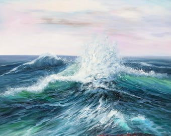 "Guojin Yang Wave 39x39"""