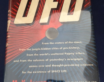 The Expanding Case for the UFO by M. K. Jessup 1st 1957 VINTAGE ufology/ hardcover UFOs