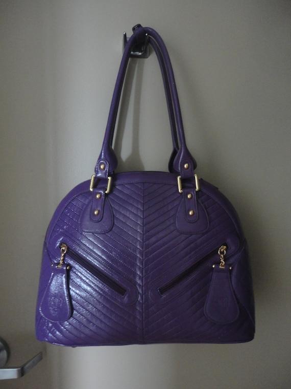 Vintage Sharif Large Handbag 16x12x5 - image 5
