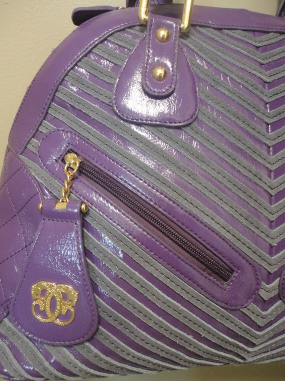 Vintage Sharif Large Handbag 16x12x5 - image 9