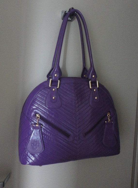 Vintage Sharif Large Handbag 16x12x5 - image 7