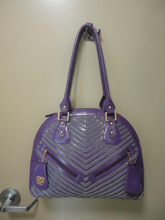 Vintage Sharif Large Handbag 16x12x5 - image 2