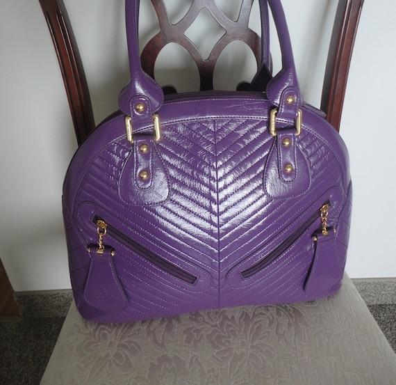Vintage Sharif Large Handbag 16x12x5 - image 4