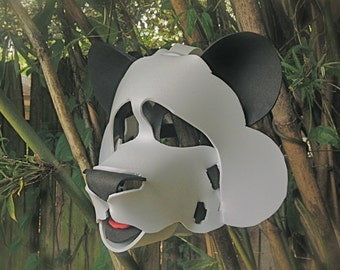 Panda Mask (3-D animal masks for kids and adults)