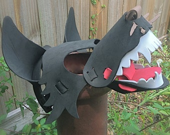 Wolf Mask (3-D animal mask for kids and adults)