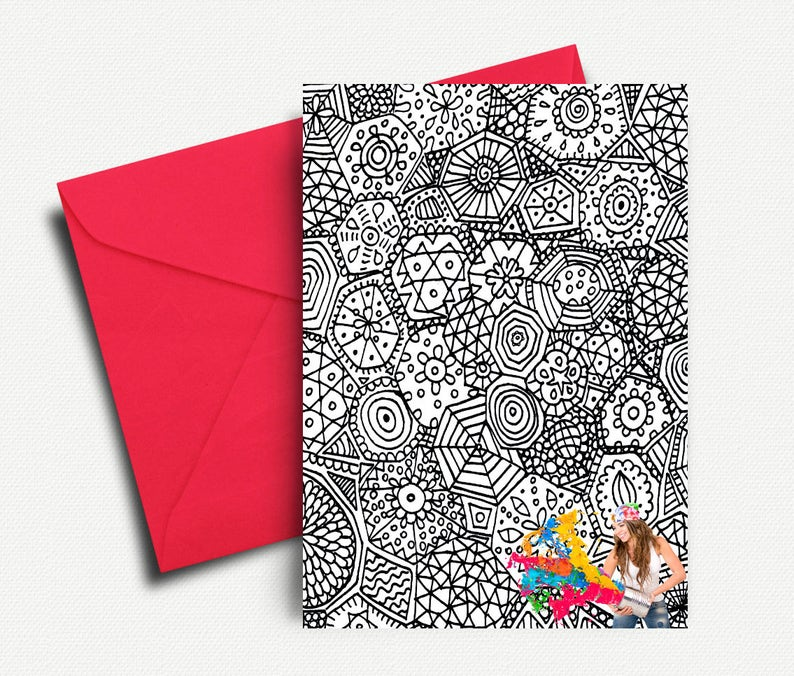 Create adult print cards for free