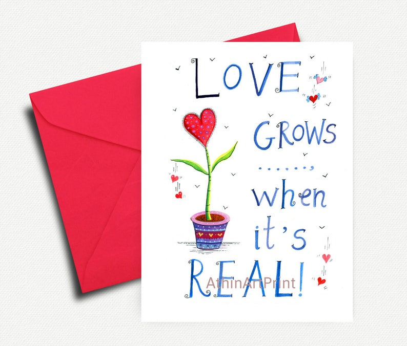 graphic regarding Printable Love Cards identify Delight in Card, Printable Enjoy Card, Appreciate Greeting Playing cards, Passionate Card, I Get pleasure from By yourself, Greeting Card, Prompt Down load