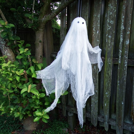 Halloween Ghost Large Ghost Ghost Decoration Hanging Ghost Etsy