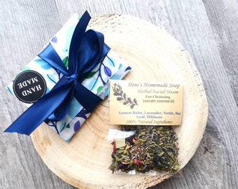 Herbal Blend for Steaming, Tester, Pore cleansing, Facial Steam, Plastic free, Acne treatment, Healing steam for stress relief, Vegan, 5g