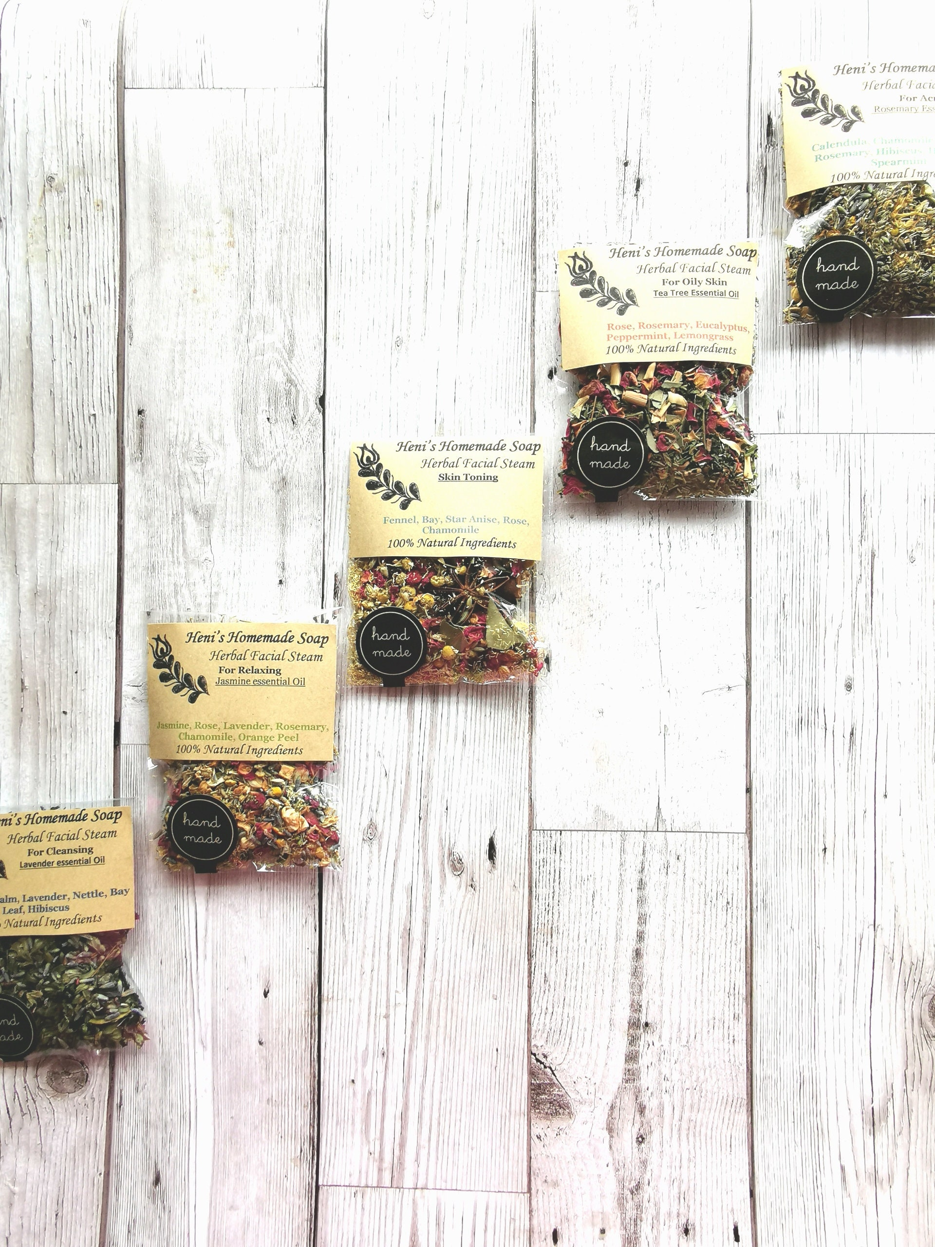 Herbal Facial Steam Bundle, 8 Botanical Face Steaming, Pore cleansing, Herb  steam Bundle, Mother's day, Acne treatment, Healing steam, Vegan